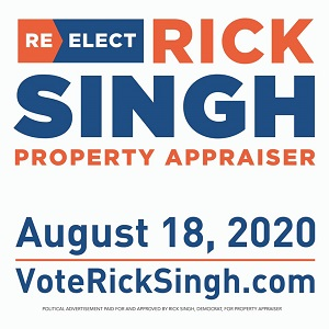 Rick Singh For Orange County Property Appraiser