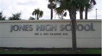 Jones High School, Orlando, Florida is under attack.